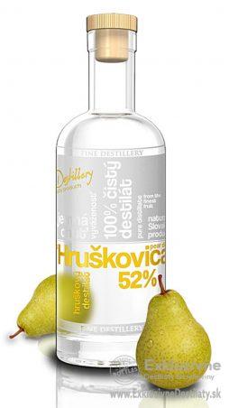Fine Destillery Hruškovica exclusive 0,5 l 52%