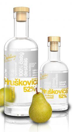Fine Destillery Hruškovica exclusive 0,2 l 52%