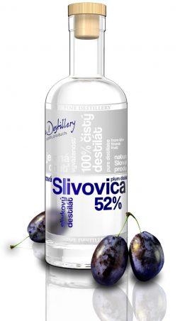 Fine Destillery Slivovica exclusive 0,5 l 52%