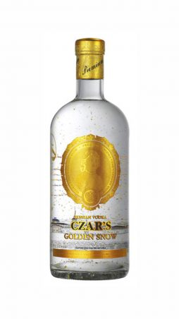 Carska vodka Golden Snow 0,7 l 40 %