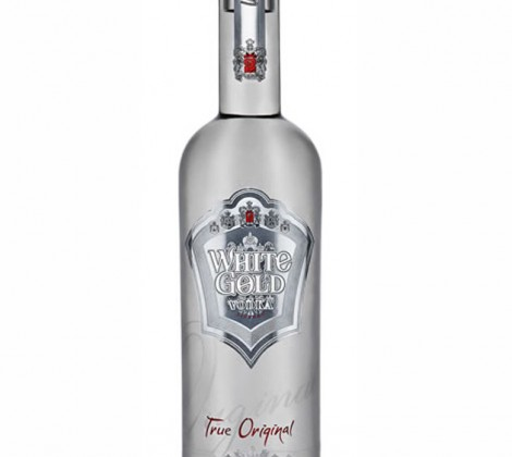 White Gold Vodka Originál, 40% 700 ml
