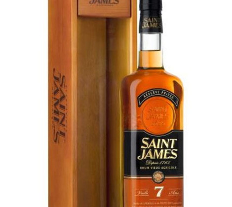 Saint James Vieux 7 yo + box 0,7 l 43%