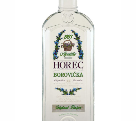 HOREC – Borovička 0,5 l 40%