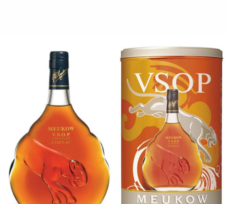 Meukow VSOP cognac 0,7 l 40% tuba