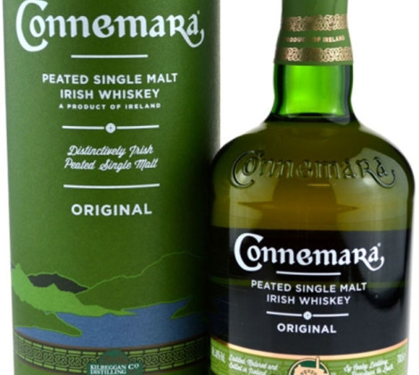 Connemara Peated Malt 0,7 l 40% tuba