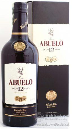 Ron Abuelo Aňejo 12 yo 0,7 l 40%