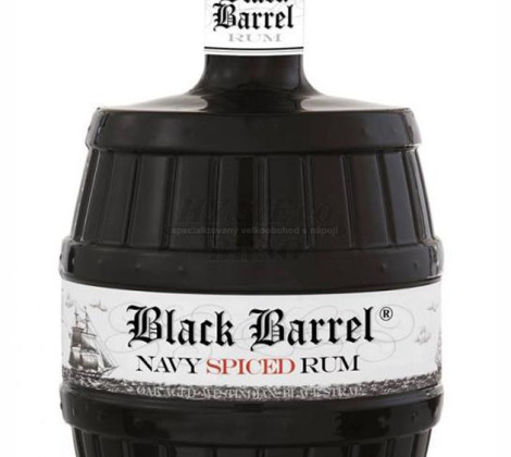 A.H.Riise Black Barrel Spiced 0,7 l 40%