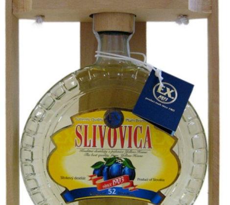 Prelika Slivovica 0,7 l 52% budík