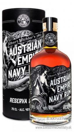 Austrian Empire Navy Reserva 1863 0,7l 40% tuba