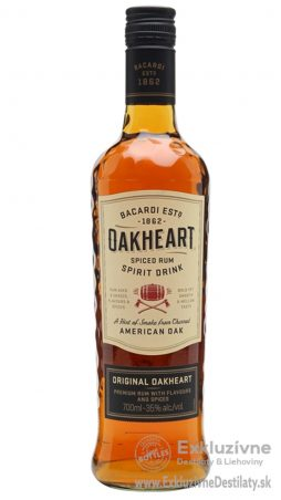 Bacardi Oakheart 0,7 l 35%