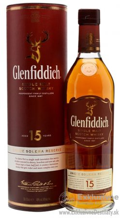 Glenfiddich 15 yo 0,7 l 40% tuba