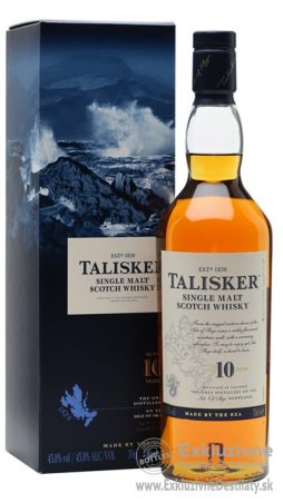 Talisker Single Malt 10 yo 0,7 l 45,8%