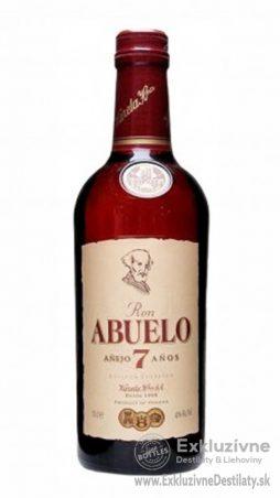 Ron Abuelo Aňejo 7 yo mini 0,05 l 40%