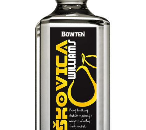 Bowten Hruškovica Williams 0,7 l 50%