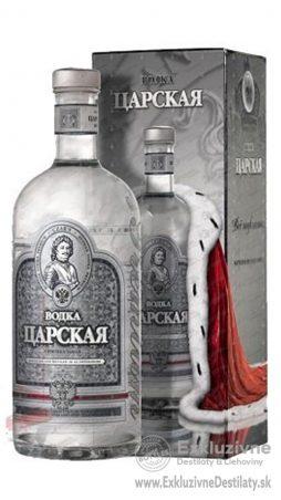 Vodka Carskaja Silver Gift 0,7 l 40%