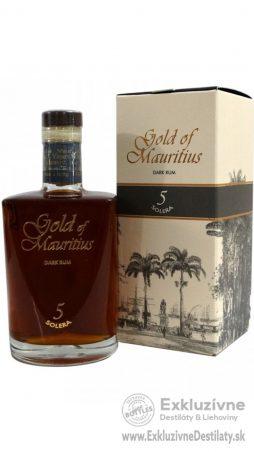 Gold of Mauritius Dark Rum 5 Solera 0,7 l 40%