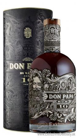Don Papa 10 yo 0,7 l 43%