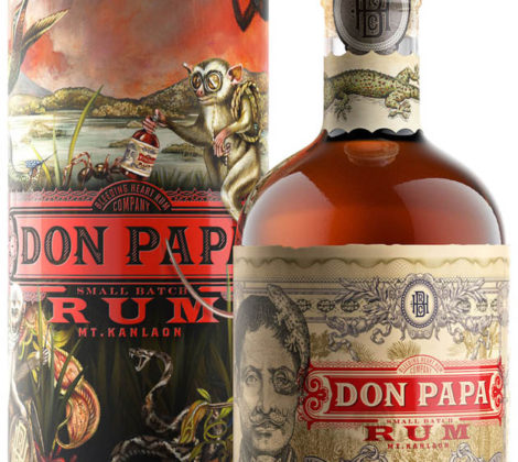 Rum DON PAPA 0,7 l 40% limit. edition