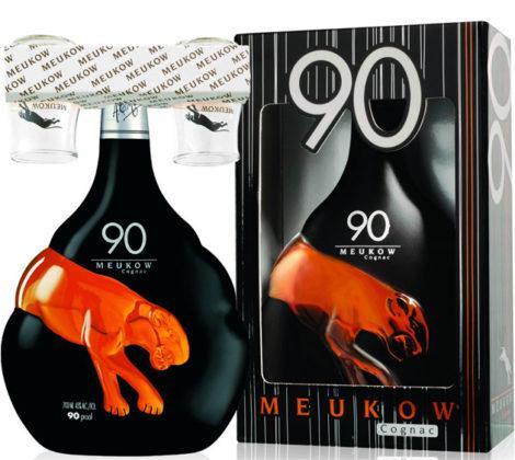 Meukow 90 s 2 pohármi 0,7 l 45%