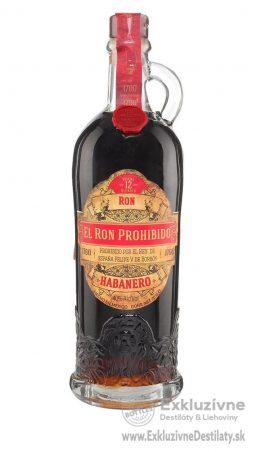 El Ron Prohibido Habanero 12yo 0,7 l 40%