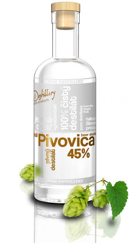 Fine Destillery Pivovica exclusive, 0,5 l, 45%