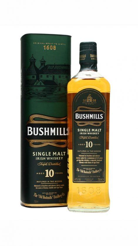Bushmills Single Malt 10 yo 0,7 l 40% tuba