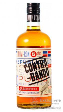 Rum Contrabando 5 yo Anejo 0,7 l 38%