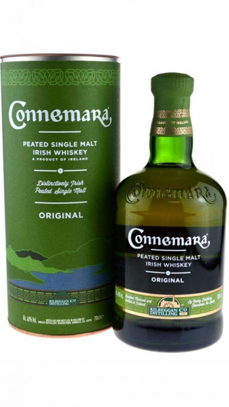 Connemara Peated Malt 0,7 l 40% tuba