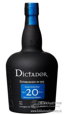 Dictador 20yo 0,7 l 40%