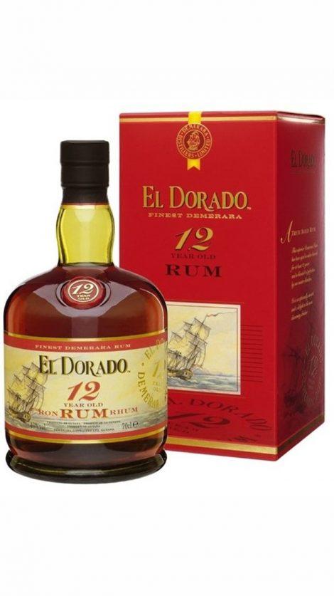 El Dorado 12yo 0,7 l 40 % GB