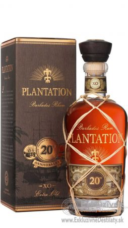 Plantation Rum Barbados Extra Old 20th Anniversary 0,7 l 40%