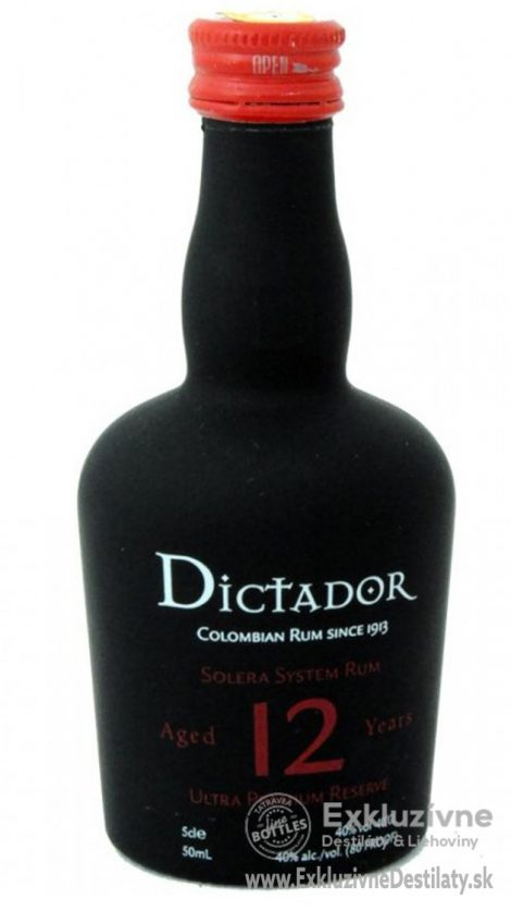 Dictador 12 yo 0,05 l 40%