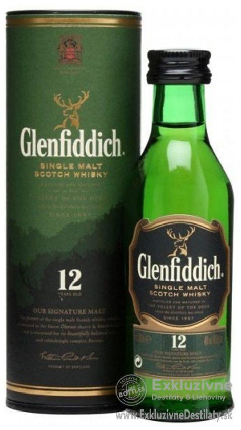 Glenfiddich 12 yo 0,05 l 40%