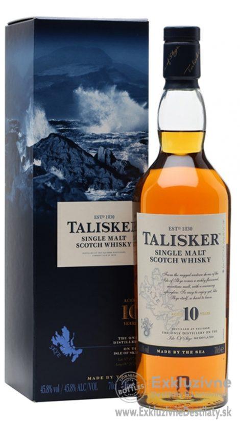 Talisker Single Malt 10 yo 0,7 l 45,8%