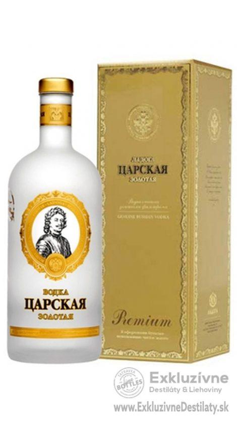 Carskaja Imperial Gold Gift 0,7 l 40%