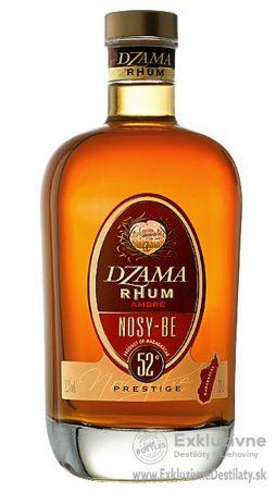 Dzama Rhum Ambré de Nosy Be Prestige 0,7 l 52%