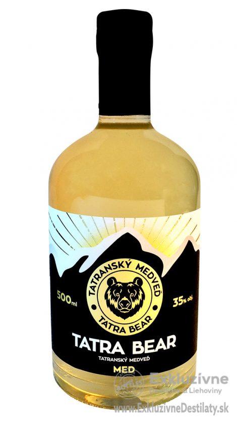 Tatranský Medveď med 0,5 l 35%