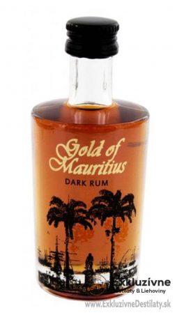 Gold of Mauritius Dark Rum 0,05 l 40%