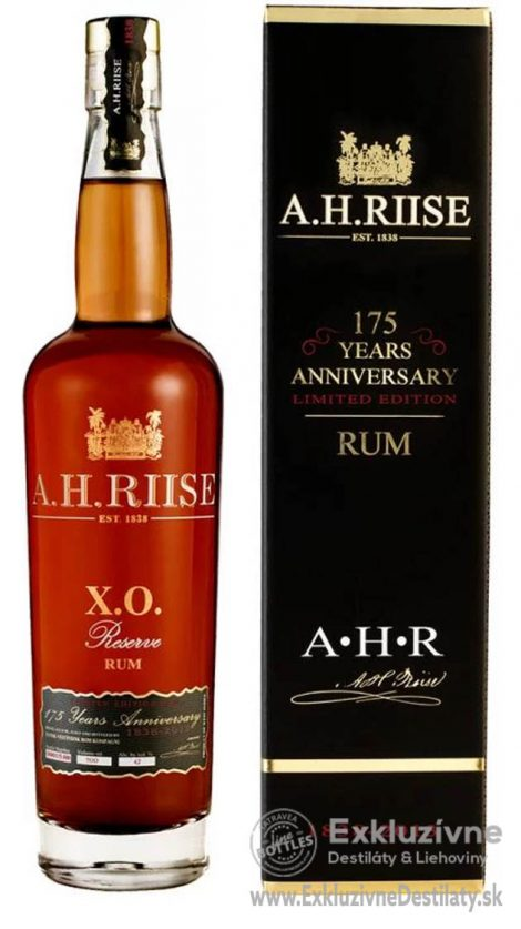A.H. Riise XO 175 Years Anniversary 0,7 l 42%