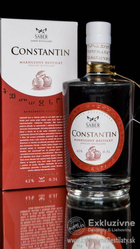 CONSTANTIN Marhuľovica 0,5 l 42%