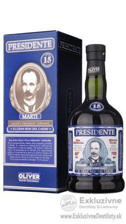 Presidente Marti 15yo 0,7 l 40%