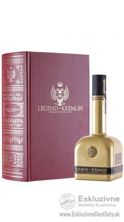 Legend of Kremlin Red & Gold Limited Edition 0,7 l 40%