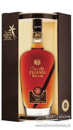 Dzama Rhum Vanilla 10yo 0,7 l 43% Gift