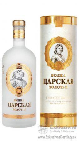 Carskaja Imperial Gold 1 l 40% Gift
