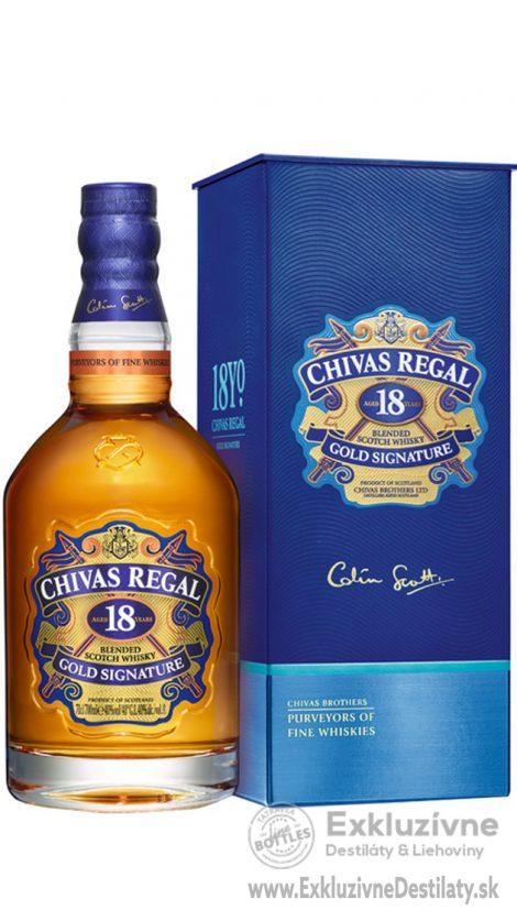 Chivas Regal 18yo 0,7 l 40%