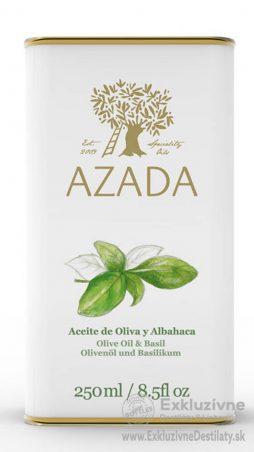 AZADA - Bazalka & Extra Panenský Olivový Olej 250 ml