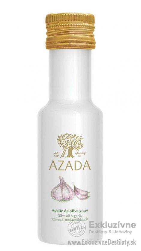 AZADA - Cesnak & Extra Panenský Olivový Olej 100 ml
