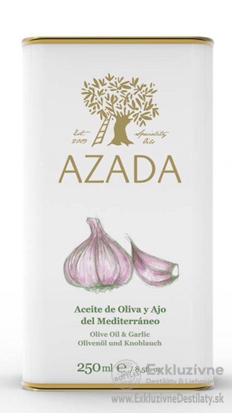 AZADA - Cesnak & Extra Panenský Olivový Olej 250 ml