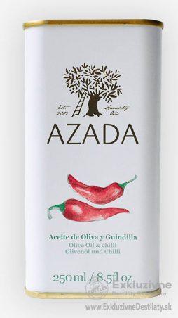 AZADA - Čili & Extra Panenský Olivový Olej 250 ml
