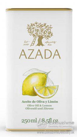 AZADA - Citrón & Extra Panenský Olivový Olej 250 ml